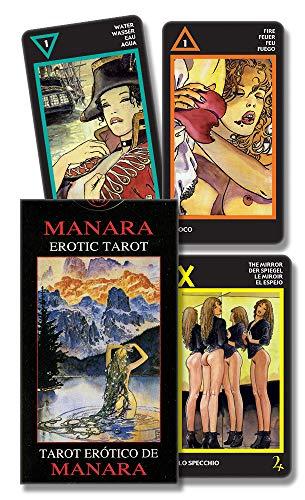 9780738710082: Manara Erotic Tarot: Tarot Erotico de Manara