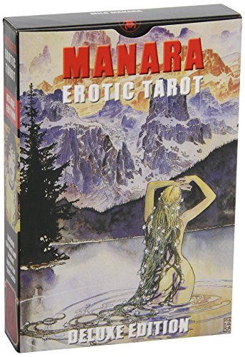 9780738710136: Manara Erotic Tarot Deluxe (English and Spanish Edition)