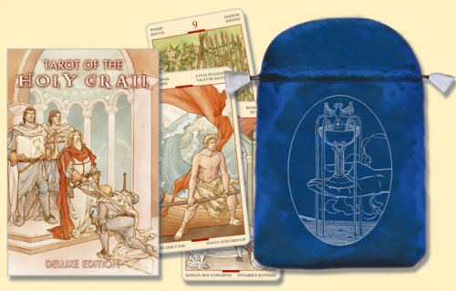 9780738710235: Tarot of the Holy Grail/Tarot del Santo Grial [With Satin Bag]