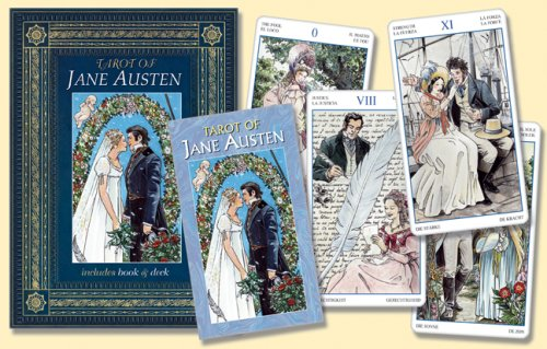 9780738710242: Tarot of Jane Austen with Cards