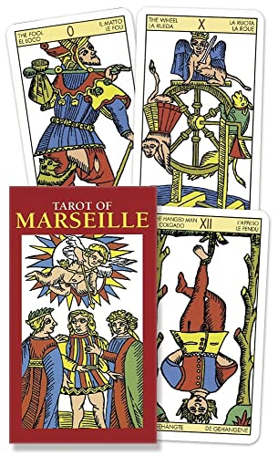 9780738710266: Tarot of Marseille Mini (English and Spanish Edition)