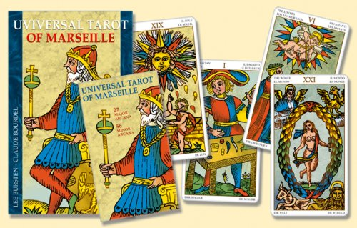 9780738710419: Universal Tarot of Marseille [With Book and Deck of Cards]