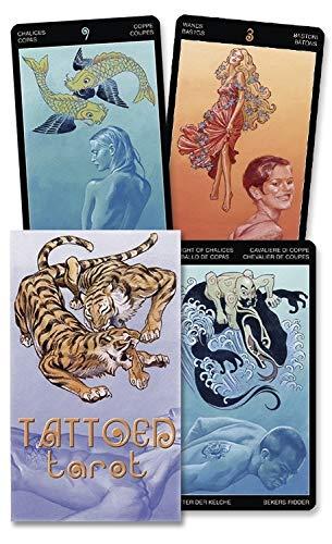 9780738710570: Tattooed Tarot/El Tarot Tatuado