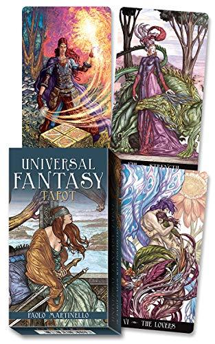 Universal Tarot: Universal Fantasy Tarot (English And Spanish Edition) By