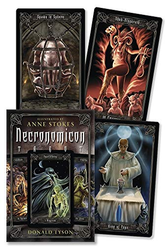 9780738710860: Necronomicon Tarot Cards Kit [With BookWith Tarot CardsWith Black Organdy Bag]