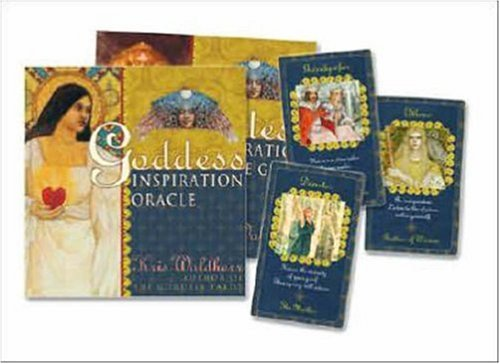 9780738711676: Goddess Inspiration Oracle [With 80 Full-Color Tarot Cards and Gold Organdy Tarot Bag]