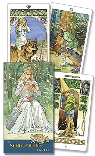 9780738711782: The Sorcerers Tarot (English and Spanish Edition)
