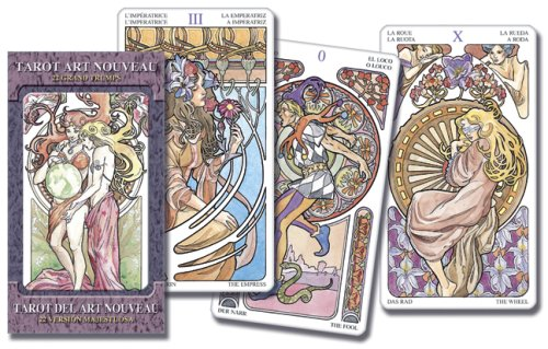 9780738711829: Tarot Art Nouveau Grand Trumps