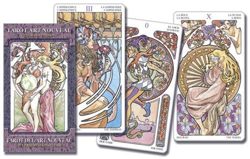 9780738711829: Tarot Art Nouveau / Tarot Del Art Nouveau / Tarocchi Art Nouveau / Primavera Tarot
