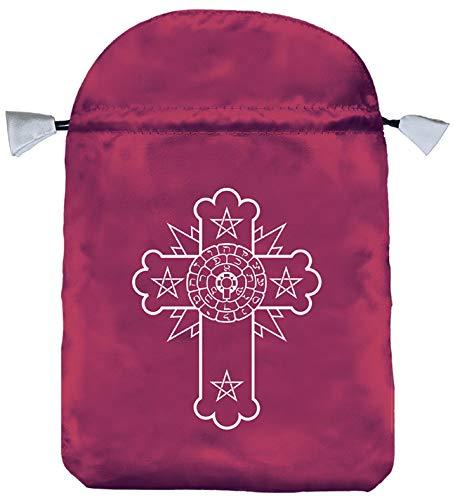 9780738711881: Rosicrucian Satin Bag (Bolsas de Lo Scarabeo Tarot Bags From Lo Scarabeo)