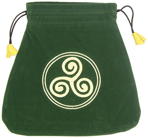 9780738711898: Celtic Triskel Velvet Bag