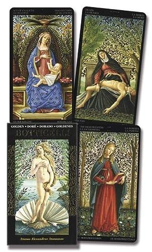 9780738712314: Golden Botticelli Tarot