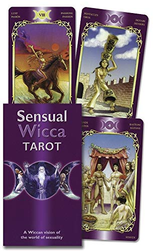 9780738712321: Sensual Wicca Tarot (English and Spanish Edition)