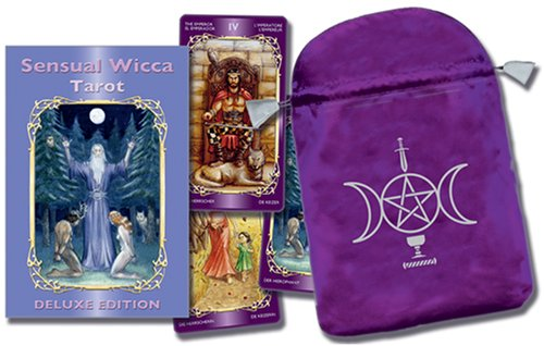 9780738712345: Sensual Wicca Tarot/Tarot de La Sensualidad Wicca [With Embroidered Satin Bag]