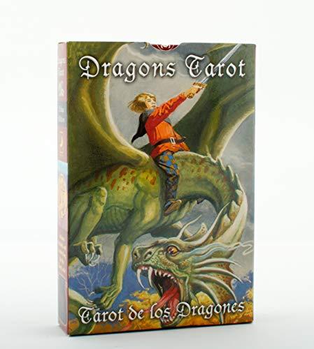 9780738712352: Dragons Tarot/Tarot de Los Dragones Cards [With Embroidered Velvet Bag]