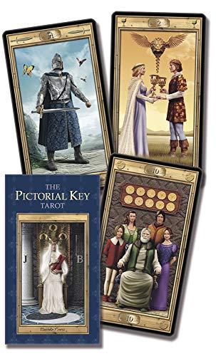 9780738712895: Pictorial Key Tarot/Tarot De La Clave Pictorica