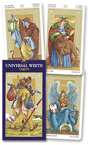 9780738712925: Universal Wirth Tarot/Tarot Universal de Wirth [With Instructions]