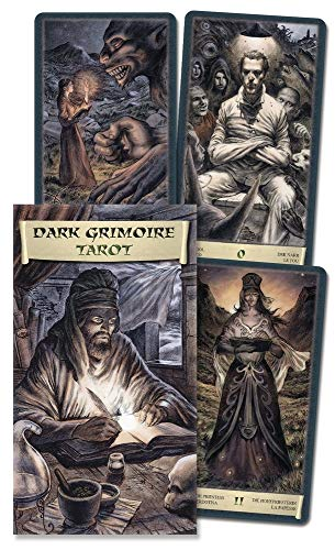 9780738713847: The Dark Grimoire Tarot (English and Spanish Edition)