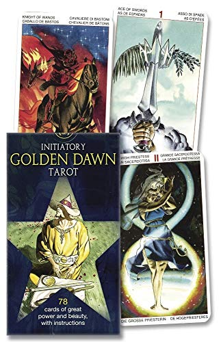 9780738713878: Initiatory Tarot of the Golden Dawn/ Tarot Iniciatico De La Golden Dawn