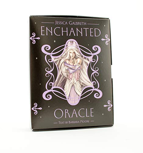 9780738714103: Enchanted Oracle [With Tarot Deck and Fairy Pendant and Silver Bag] (Book & Cards)