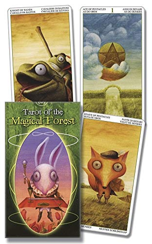 9780738714127: Tarot of the Magical Forest (English and Spanish Edition)