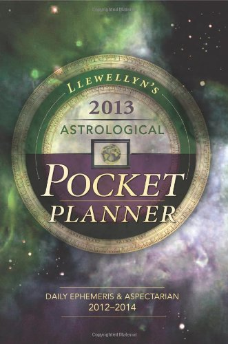 Llewellyn's 2013 Astrological Pocket Planner: Daily Ephemeris & Aspectarian 2012-2014 (Annuals - Astrological Pocket Planner) (0738715204) by Llewellyn