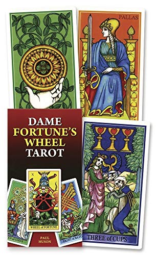 9780738715292: Dame Fortune's Wheel Tarot (English and Spanish Edition)