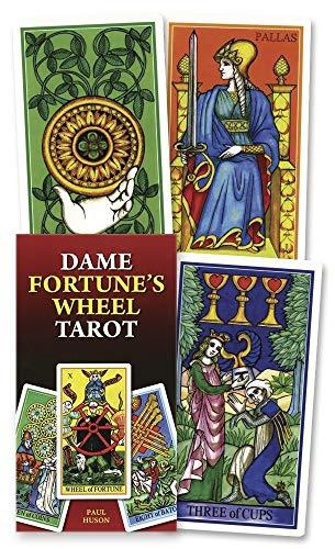 9780738715292: Dame Fortune's Wheel Tarot (English and Spanish Edition)