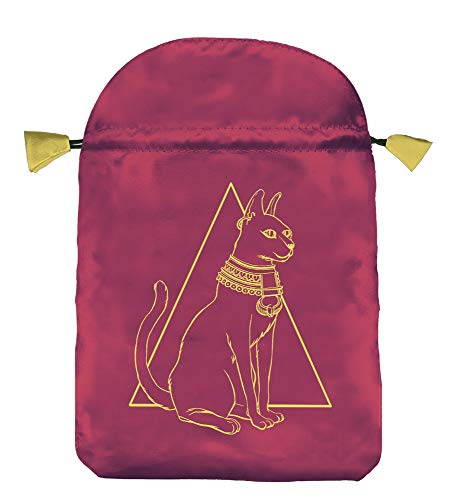 9780738715346: Egyptian Cat Satin Bag (Lo Scarabeo Bags)