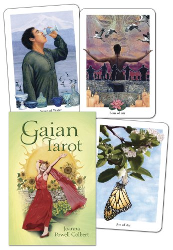 9780738718910: Gaian Tarot [With Paperback Book]
