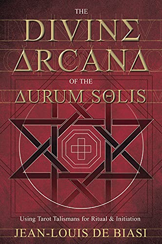 9780738720869: The Divine Arcana of the Aurum Solis: Using Tarot Talismans for Ritual & Initiation