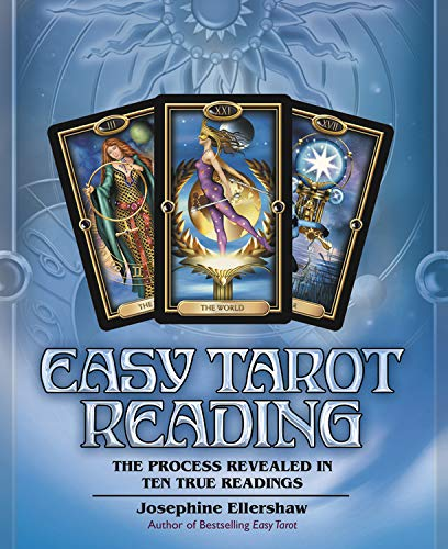 9780738721378: Easy Tarot Reading: The Process Revealed in Ten True Readings