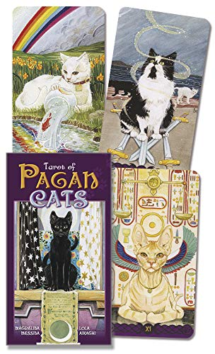 9780738726700: Tarot of the Pagan Cats / Tarot de los Gatos Paganos