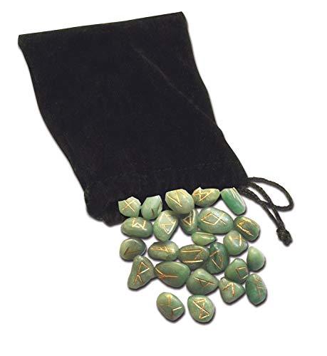 9780738729480: Green Aventurine Runes