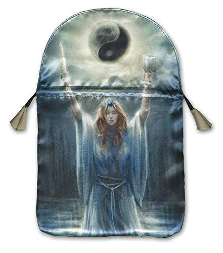 9780738730974: Sacred Priestess Printed Tarot Bag