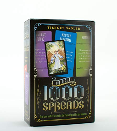 9780738733395: The Deck of 1000 Spreads: Your Tarot Toolkit for Creating the Perfect Spread for Any Situation