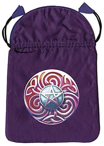 9780738733654: Magic Star Satin Tarot Bag
