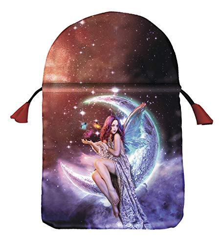 9780738733661: Moon Fairy Satin Tarot Bag