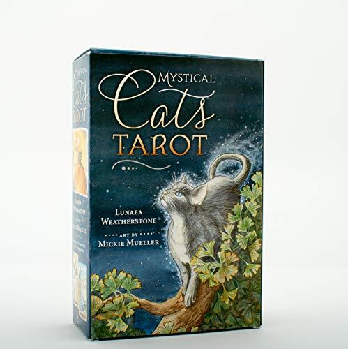9780738733883: Mystical Cats Tarot (Tarot Cards)