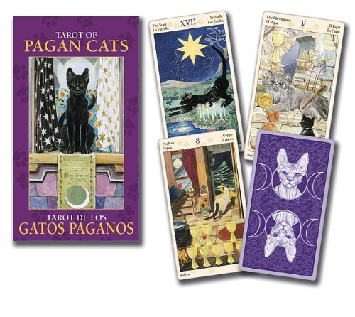 9780738735023: Tarot of Pagan Cats Mini Deck