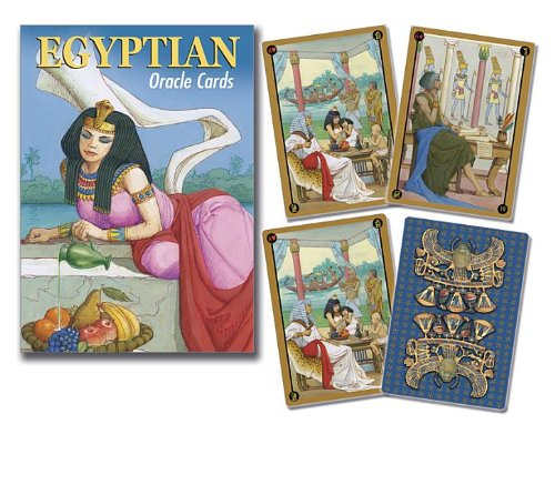 9780738735030: Egyptian Oracle Cards