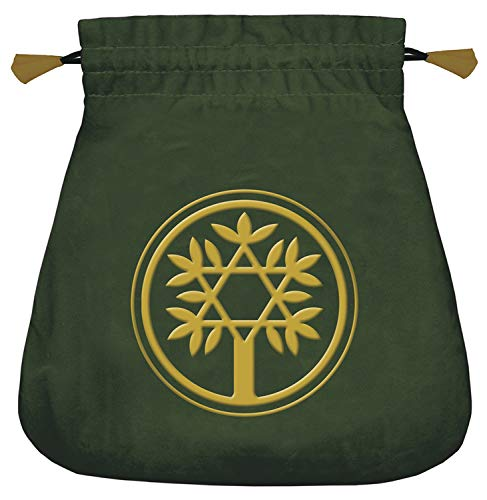 9780738735054: Celtic Tree Velvet Tarot Bag