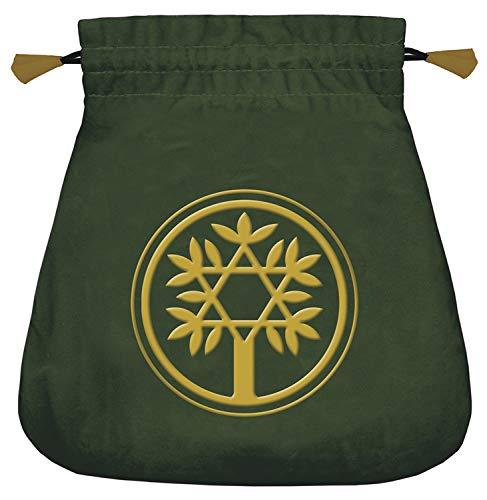 9780738735054: Celtic Tree Velvet Tarot Bag