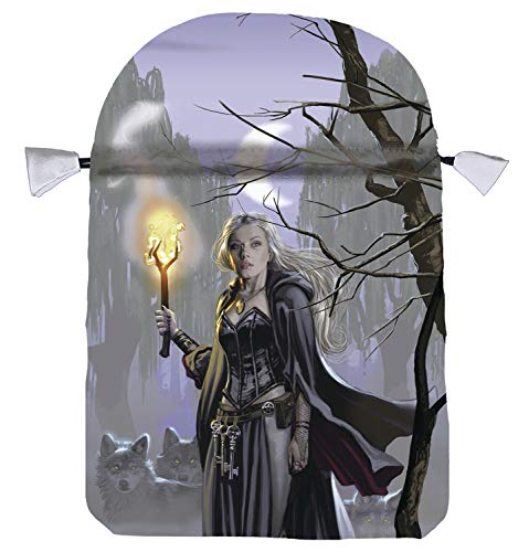 9780738735702: Witches Moon Satin Tarot Bag