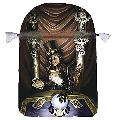 9780738735719: Steampunk High Priestess Satin Tarot Bag