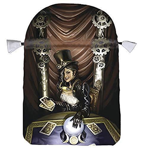 9780738735719: Steampunk High Priestess Satin Tarot Bag