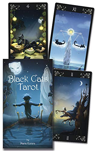 9780738738789: Black Cats Tarot / Tarot de los gatos negros