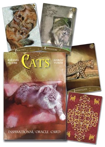 9780738738802: Cats Inspirational Oracle Cards