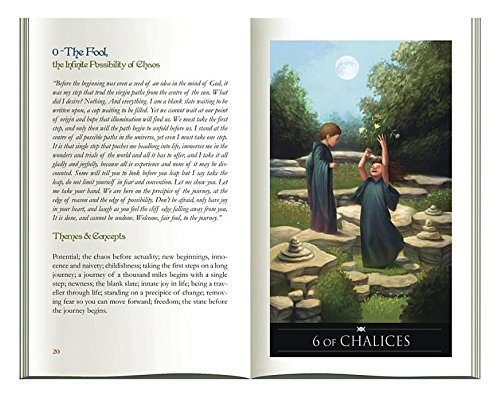 9780738741215: Silver Witchcraft Tarot Book