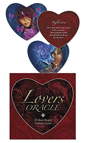 9780738743707: Lovers Oracle: Heart-Shaped Fortune Telling Cards